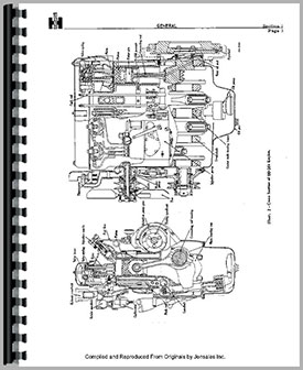 International Harvester TD9 Crawler Engine Service Manual