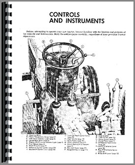 John Deere 1020 Tractor Operators Manual