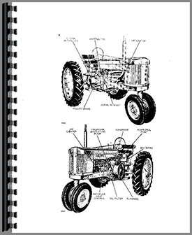 John Deere 50 Tractor Operators Manual