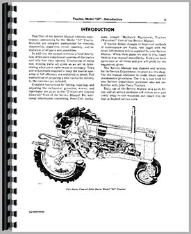 John Deere 50 Tractor Service Manual