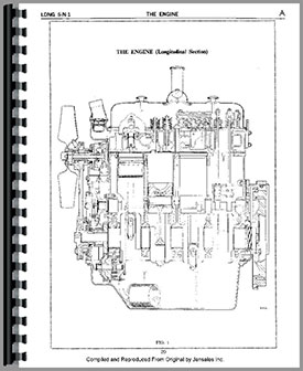 Long 1400 Tractor Loader Backhoe Service Manual