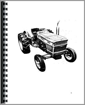 Long 350 Tractor Operators Manual