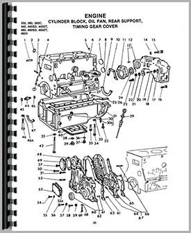Long 360 Tractor Parts Manual