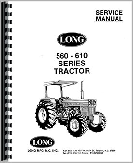 Long 610 Tractor Service Manual