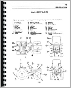 Massey Ferguson 1240 Tractor Operators Manual
