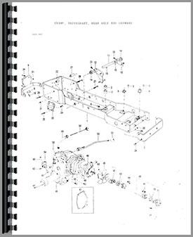 Massey Ferguson 16 Lawn & Garden Tractor Parts Manual