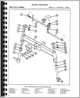 Massey Ferguson 35 Tractor Service Manual