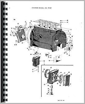 Ferguson TE20 Tractor Parts Manual