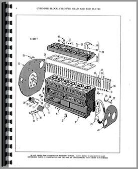 Massey Harris 44 Tractor Parts Manual