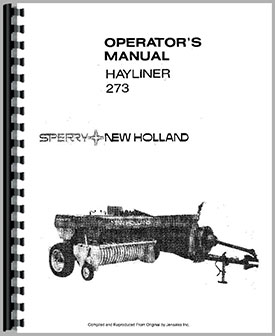 Download New Holland Hayliner 273 Owners Manual free