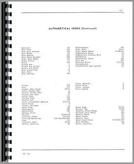 Oliver 1755 Tractor Parts Manual