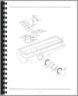 Oliver 1655 Wiring Diagram Oliver Parts Diagram ~ Elsavadorla