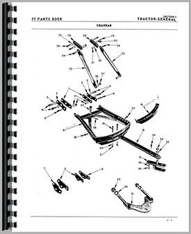 Oliver Super 77 Tractor Parts Manual