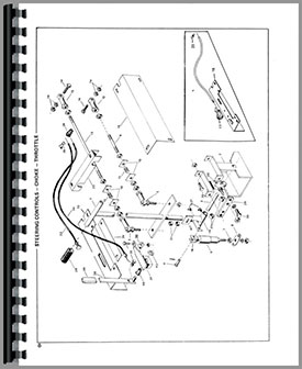 Owatonna 330 Skid Steer Loader Parts Manual