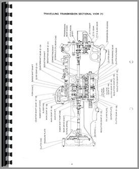 Yanmar YM186 Tractor Parts Manual