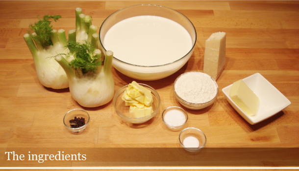 Fennel & Cheese - the ingredients