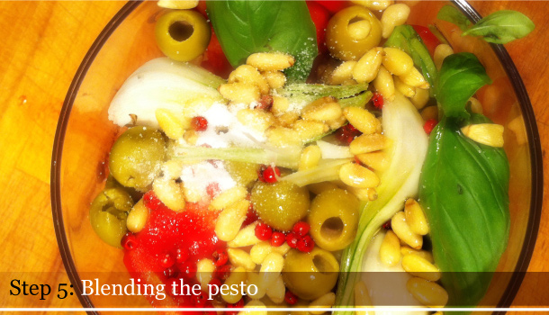 Linguine with Summer Pesto recipe