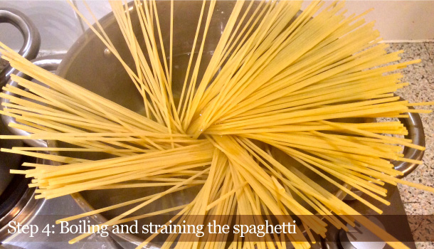 """Spaghetti with Fried Courgettes alla Nerano"" recipe"