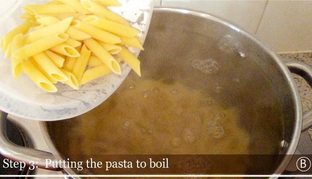 """Penne with Arrabbiata spicy hot sauce"" recipe - ""Penne all'Arrabbiata"""