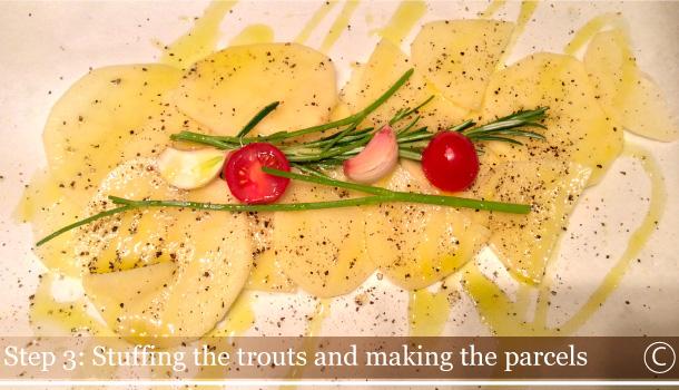 """Trouts and Potatoes Parcel"" - ""Trote al Cartoccio con Patate""-AL-CARTOCCIO_ingreds"