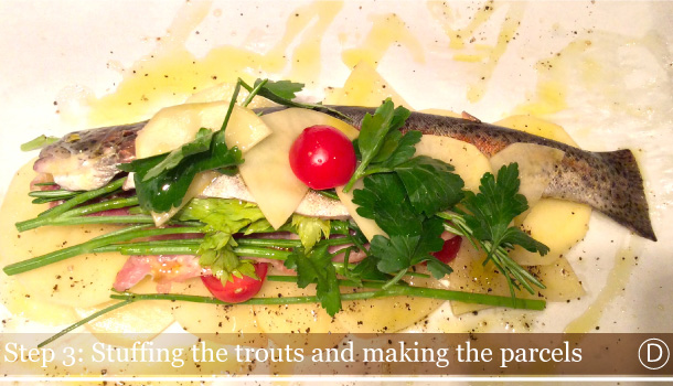 """Trouts and Potatoes Parcel"" - ""Trote al Cartoccio con Patate""-AL-CARTOCCIO_ingreds"