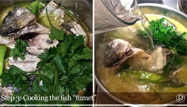 """""""Fish Fumet"""" recipe - """"Fumetto di Pesce"""""""