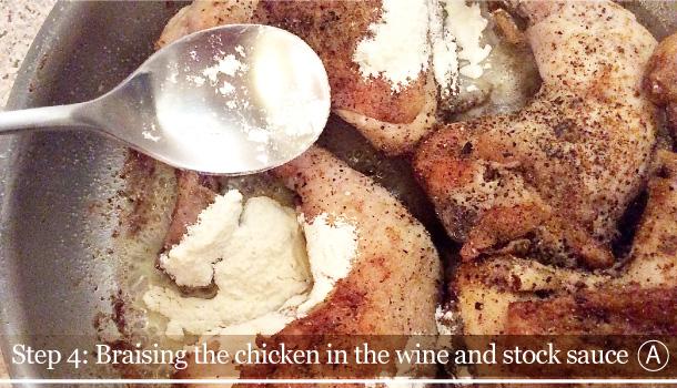 """""""Chicken alla Marengo"""" recipe by Artusi - """"Pollo alla Marengo"""""""