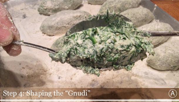 """""""Gnudi in Butter and Sage sauce"""" recipe - """"Gnudi al Burro e Salvia"""""""