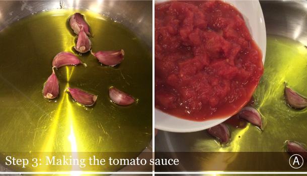 """""""Gratinèed Gnudi with Spicy Tomato Sauce"""" recipe - Gnudi al Pomodoro Gratinati"""