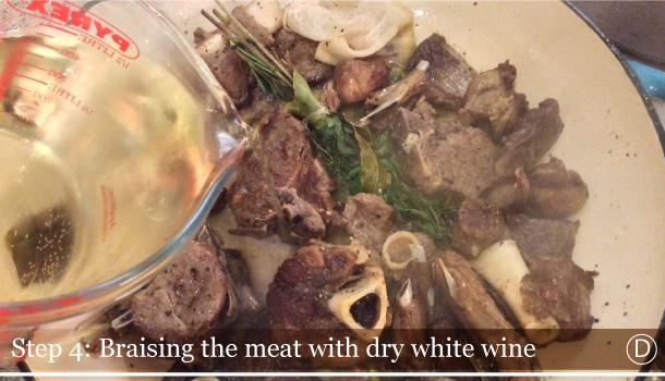 """Callara Lamb Stew"" recipe - ""Pecora alla Callara"""