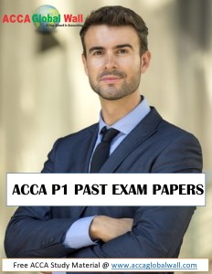 ACCA P1 Past Exam Papers