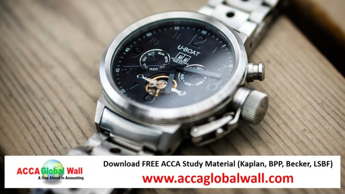 Latest ACCA F7 Becker Study Material 2017