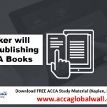 Becker will stop publishing ACCA Books