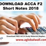 acca f2 short notes 2018