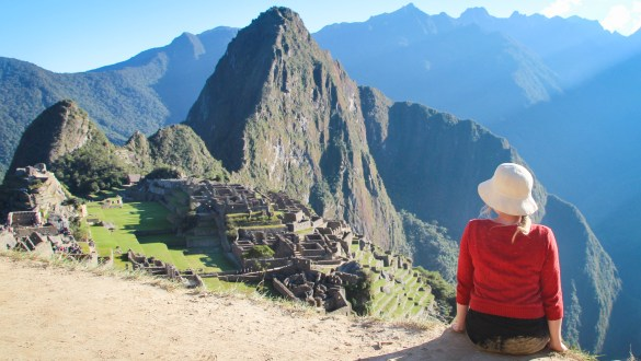 Views over Machu Picchu, Peru