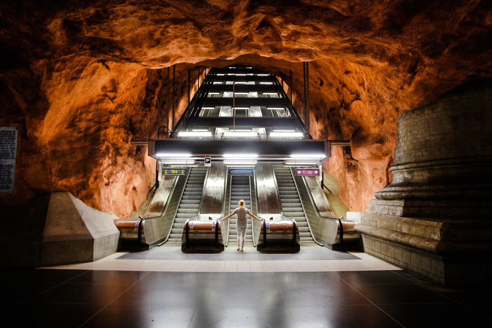 Stockholm subway station Rådhuset