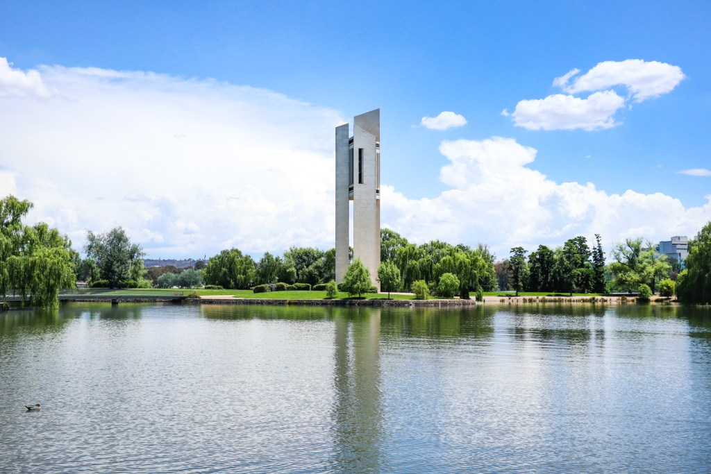 The National Carillon at Lake Burley Griffin, Canberra, ACT
