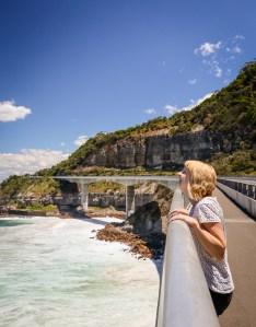 Sea Cliff Bridge on Grand Pacific Drive, Australia