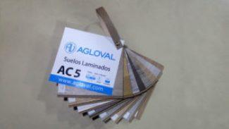 Muestrarios parquet AC5 Agloval