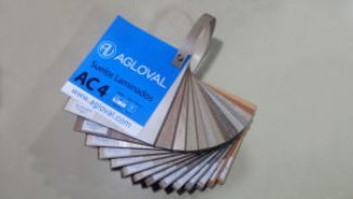 Muestrarios parquet AC4 Agloval