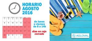 horario agosto2016 Agloval