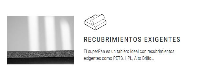 superPan recubrimientos