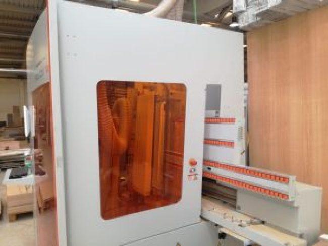 centro de mecanizado de tableros vertical con control numérico
