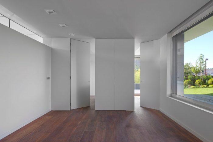 puertas de paso batiente raso muro armazon ego