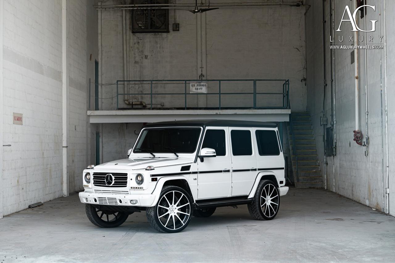 AG Luxury Wheels  MercedesBenz G550 Forged Wheels