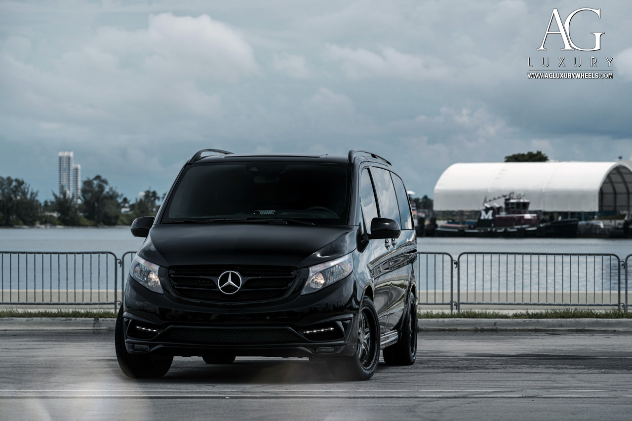 AG Luxury Wheels Mercedes Benz Metris Forged Wheels