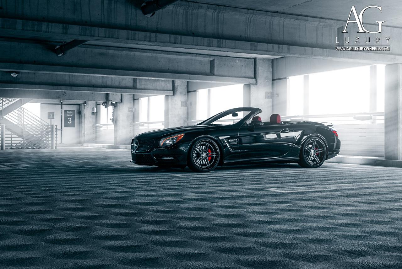 AG Luxury Wheels  MercedesBenz SL550 Forged Wheels