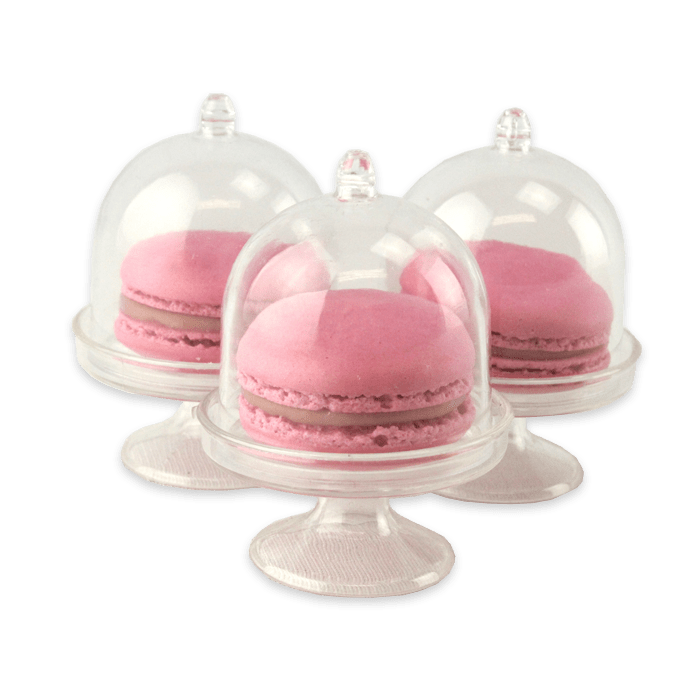 Mini Cake Dome To Dispaly Macarons Gifts Ag Macarons Toronto