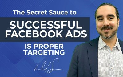 THE SECRET SAUCE TO SUCCESSFUL FACEBOOK ADS IS PROPER TARGETING