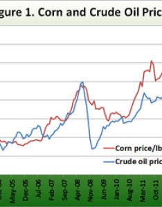 Corn and crude oil prices also ethanol gasoline are the relationships rh agmrc